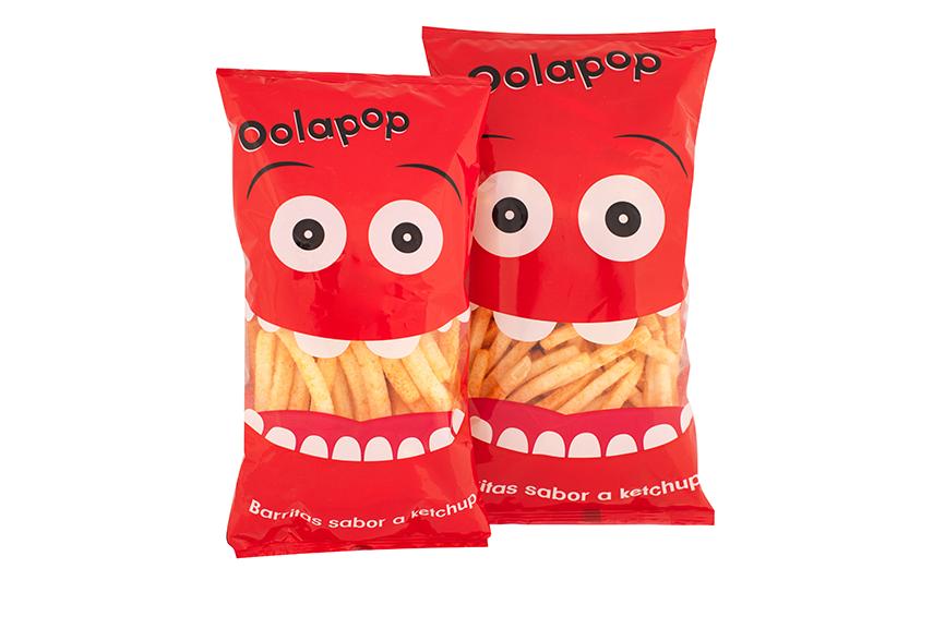 Barritas sabor a ketchup Oolapop