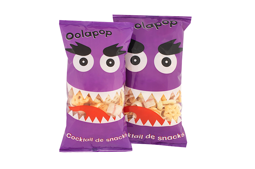 Cocktail de snacks Oolapop